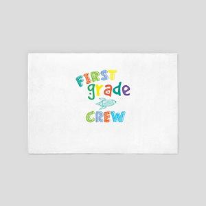 First Grade Crew 4' x 6' Rug
