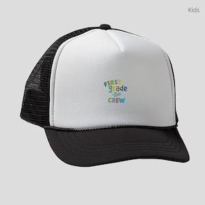 First Grade Crew Kids Trucker hat