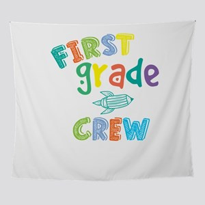 First Grade Crew Wall Tapestry
