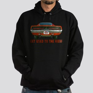 Get Used to the view-Charger- Hoodie (dark)