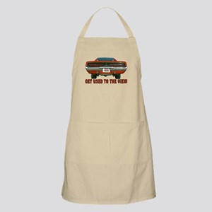 Get Used to the view-Charger- BBQ Apron