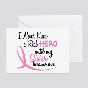Never Knew A Hero 3 Sister BC Greeting Card