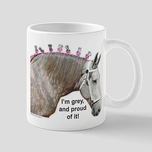 Proud to be Grey Percheron Mug