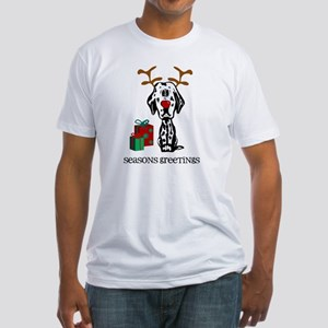 Rudolph Dalmatian Fitted T-Shirt