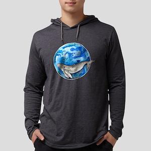 Blue World Whale Long Sleeve T-Shirt