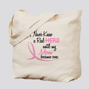 Never Knew A Hero 3 Mom BC Tote Bag