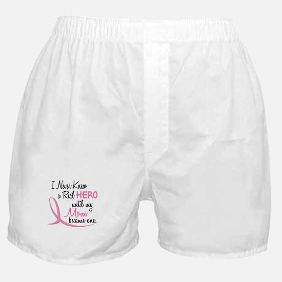 Never Knew A Hero 3 Mom BC Boxer Shorts