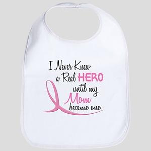 Never Knew A Hero 3 Mom BC Bib