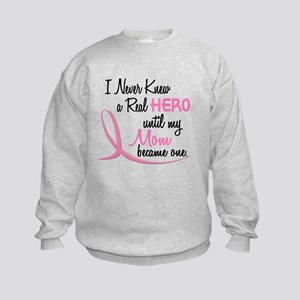 Never Knew A Hero 3 Mom BC Kids Sweatshirt