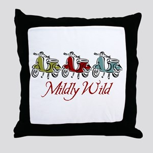 Mildly Wild Throw Pillow