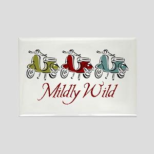 Mildly Wild Rectangle Magnet