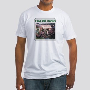 I love old Corn Binders Fitted T-Shirt