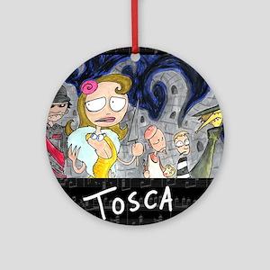 Tosca Ornament (Round)