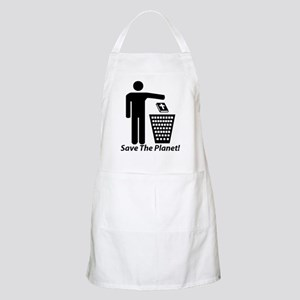 Save The Planet BBQ Apron