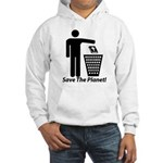 Save The Planet Hooded Sweatshirt