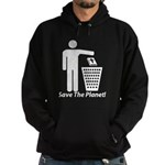 Save The Planet Hoodie (dark)