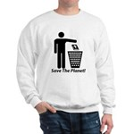 Save The Planet Sweatshirt