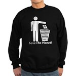 Save The Planet Sweatshirt (dark)