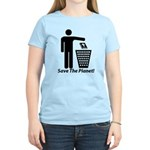 Save The Planet Women's Light T-Shirt