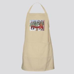 Christmas Winter Wonderland BBQ Apron