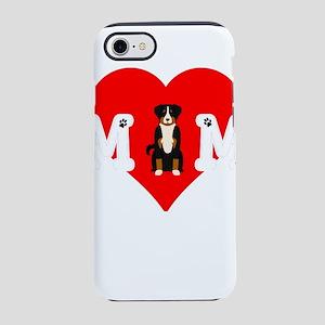 Dog Mom Heart Paw Prints App iPhone 8/7 Tough Case