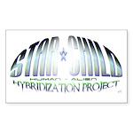Star Child Hybrid Rectangle Sticker