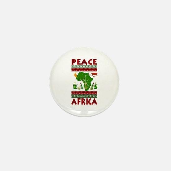 Peace in Africa Mini Button