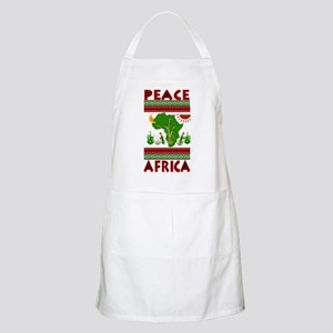 Peace in Africa BBQ Apron