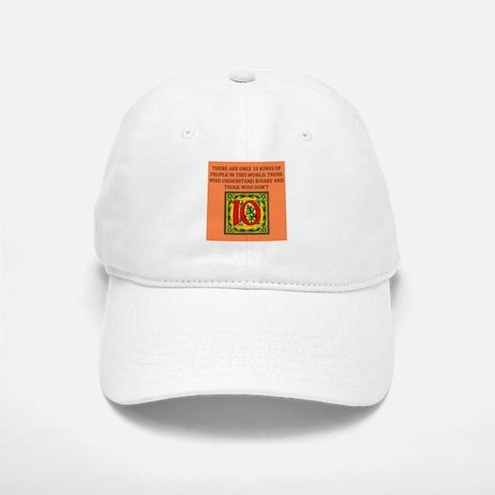 funny math geek gifts Baseball Baseball Cap