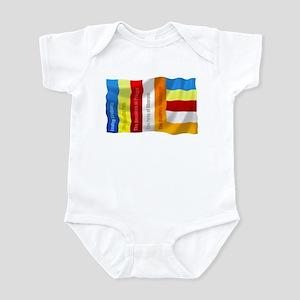 Buddhist Flag Infant Bodysuit