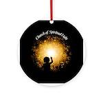 Church of Spiritual Light Ornament (Round)