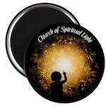 "Church of Spiritual Light 2.25"" Magnet (10 pa"