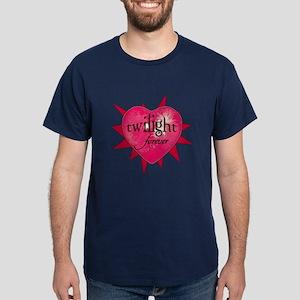 twilight forever heart /salmo Dark T-Shirt