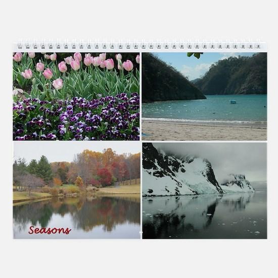 Seasons Wall Calendar