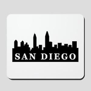 San Diego Skyline Mousepad
