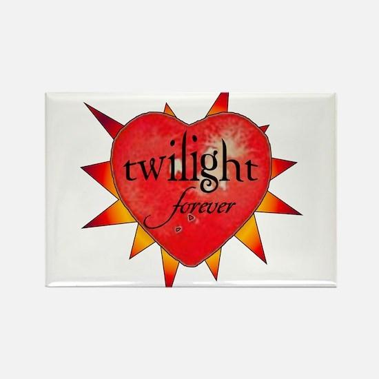 twilight forever heart /sunbu Rectangle Magnet