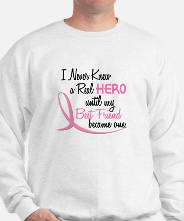 Never Knew A Hero 3 Best Friend BC Sweatshirt