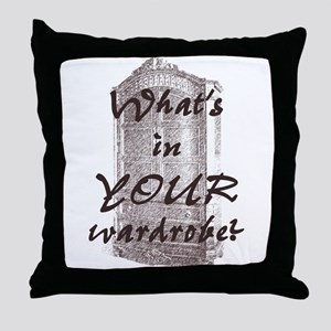 Wardrobe Throw Pillow