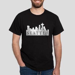 Seattle Skyline Dark T-Shirt