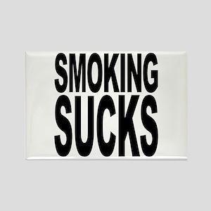 Smoking Sucks Rectangle Magnet