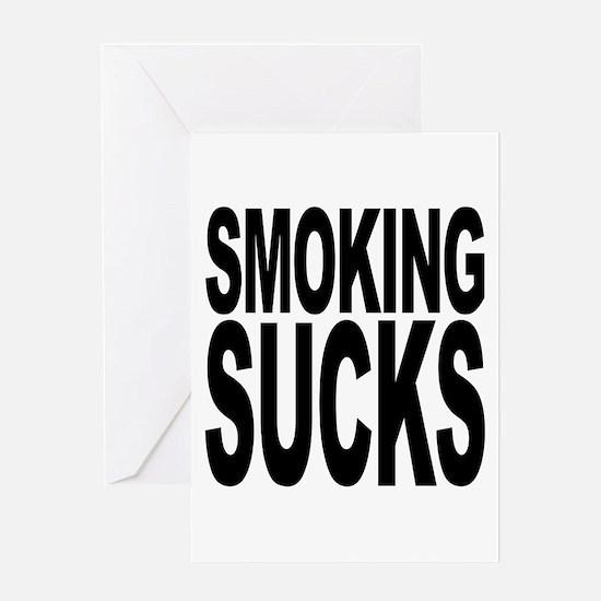 Smoking Sucks Greeting Card
