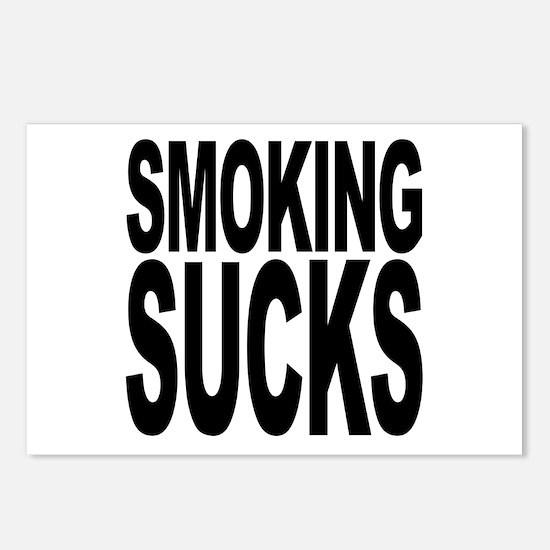 Smoking Sucks Postcards (Package of 8)