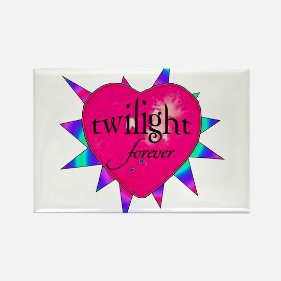twilight forever heart /twist Rectangle Magnet