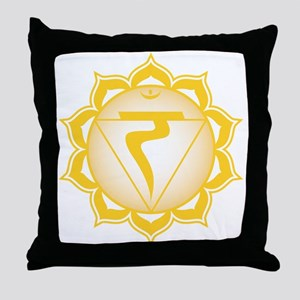 The solar plexus chakra Throw Pillow