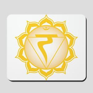 The solar plexus chakra Mousepad