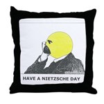 Nietzsche stuff Throw Pillow