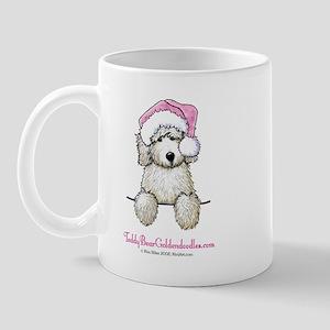Pocket Santa Doodle Mug