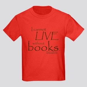 Without Books Kids Dark T-Shirt