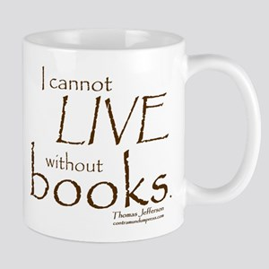 Without Books Mug