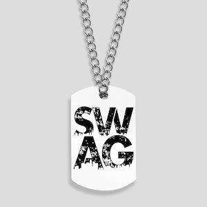 Black Swag Long Sleeve Dog Tags